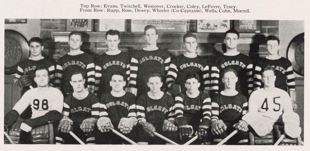 Featured Flashback: 1939-40 Colgate Raiders