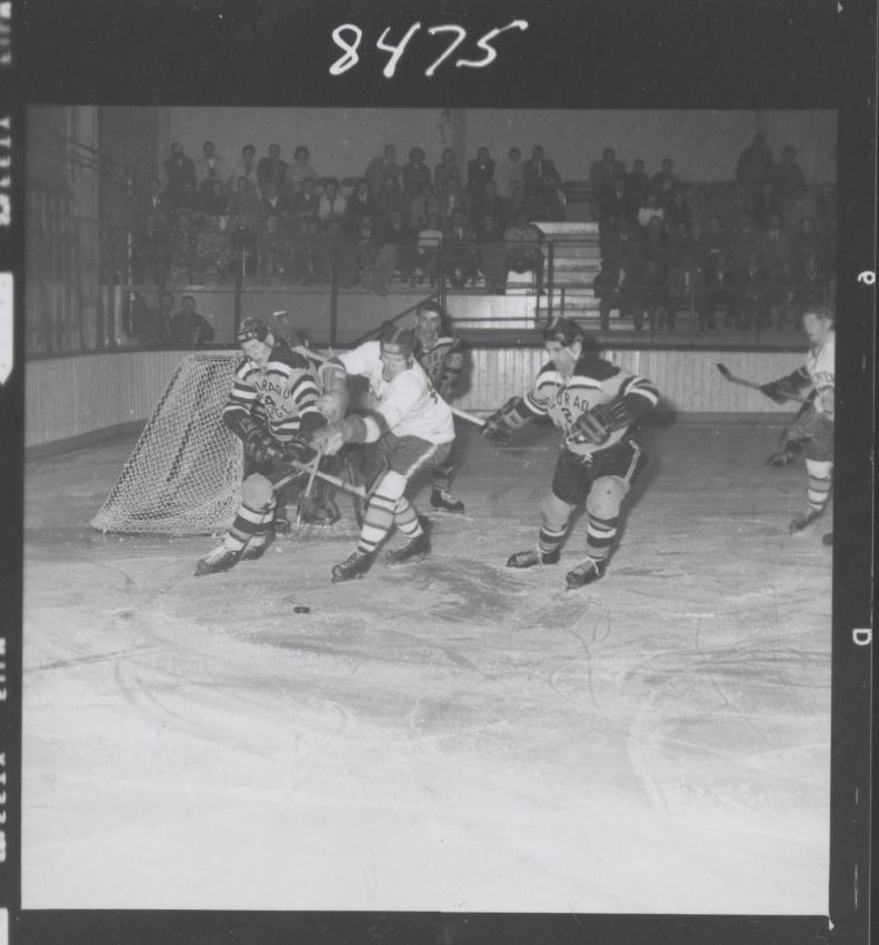 Early Clash in the Denver and Colorado College Rivalry