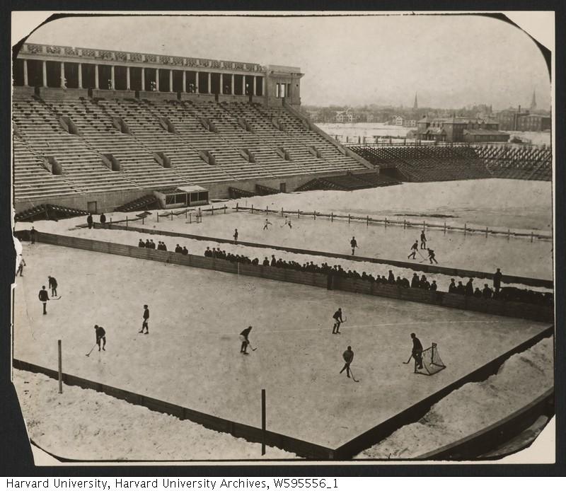 Stadium Hockey at Harvard in 1904