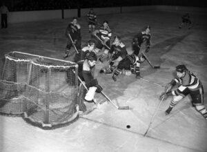 Michigan at Minnesota January 6 1951