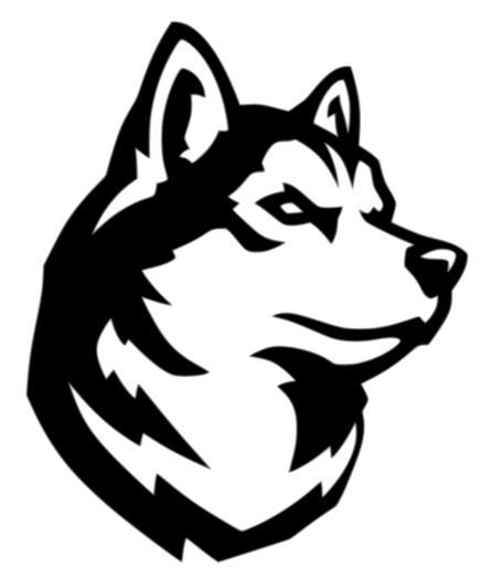 Northeastern Huskies Logo
