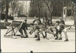 St. Thomas intrasquad scrimmage in 1924